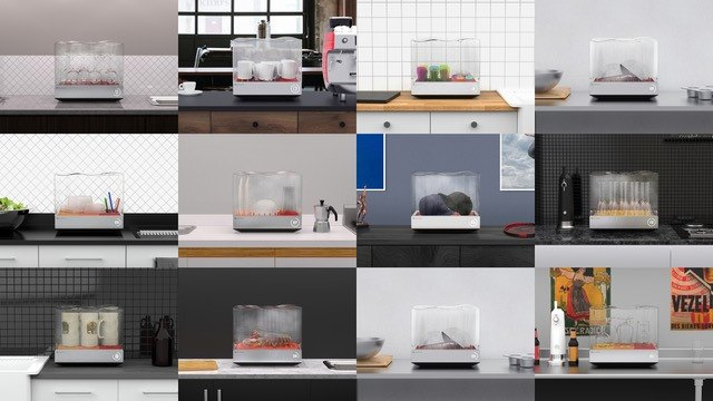 Cooking sous vide with the Tetra dishwasher
