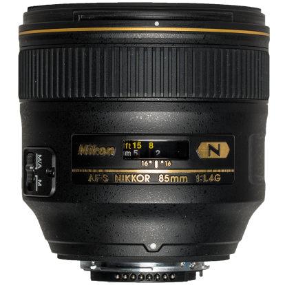 Product Image - Nikon AF-S Nikkor 85mm f/1.4G