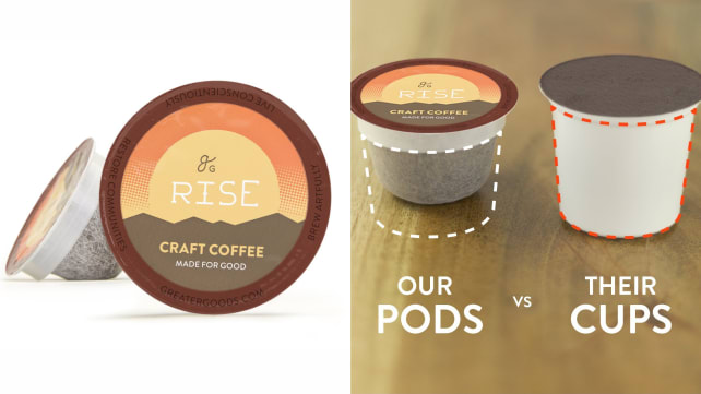 Greater Goods Single-Cup Coffee Pods