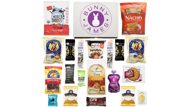 Bunny James Healthy Snack Gift Box