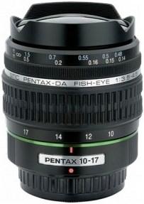 Product Image - Pentax DA 10–17mm f/3.5–4.5 ED [IF] Fisheye