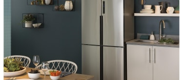 Haier quad door counter depth fridge