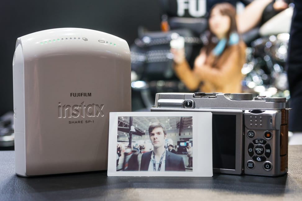 Fujifilm X-A2 – Instax Share Results