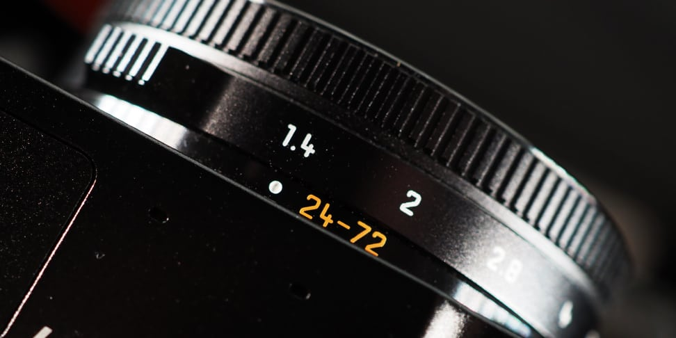 Panasonic Lumix LX10 Lens Ring Aperture