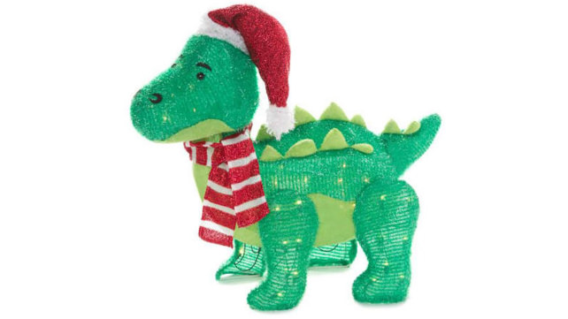 Winter Wonders Lane Light-Up Baby Dino