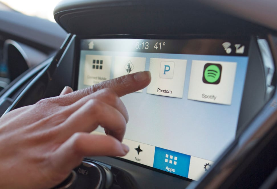 Ford's Sync 3 infotainment system