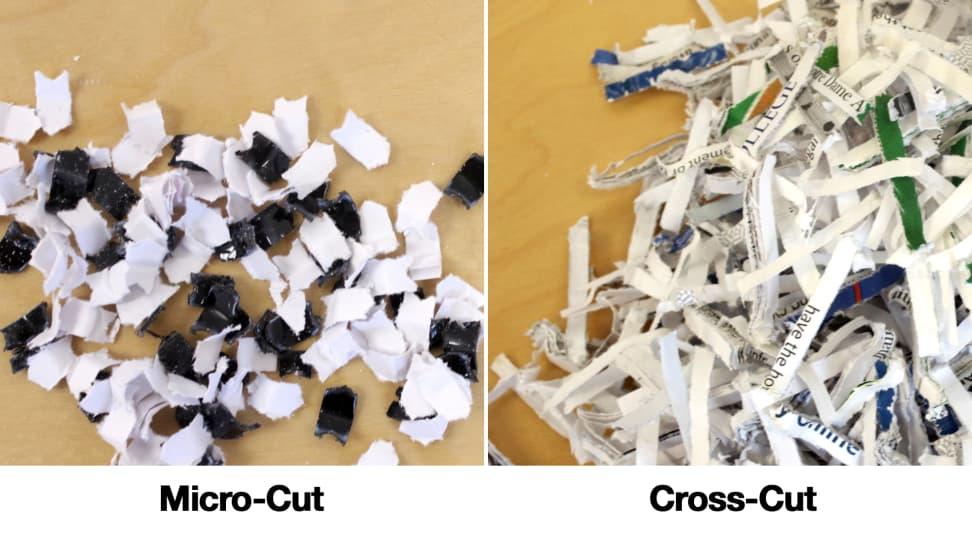 Microcut vs Crosscut