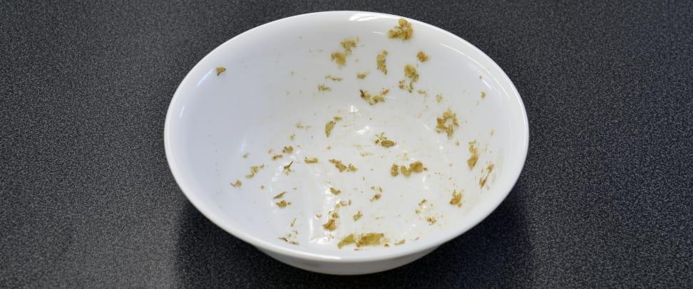 Miele G4925SCU—Oatmeal Stain