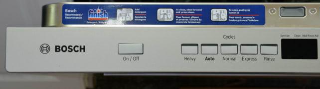 Bosch SHP65TL5UC Cycle Controls