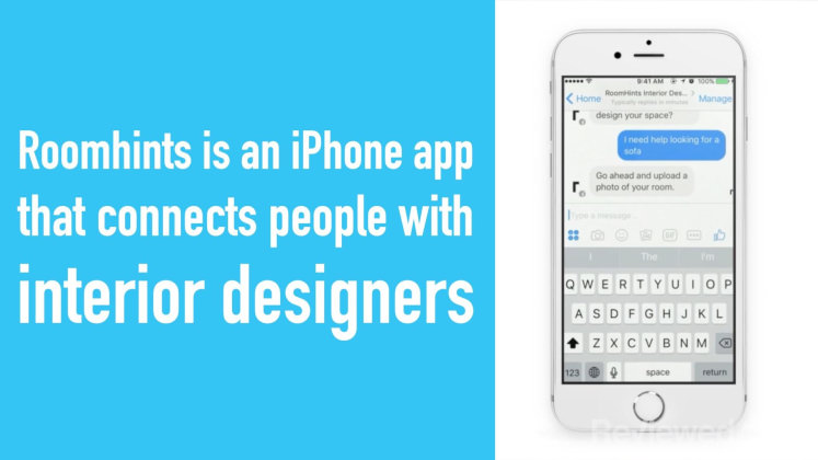 The Roomhints App Lets You Talk To A Designer For Free