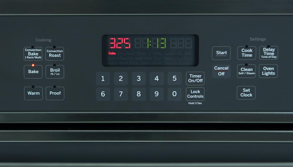 GE JT5000SFSS Controls