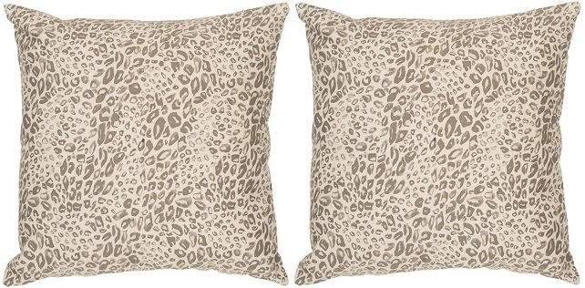 Safavieh Leopard Pillows