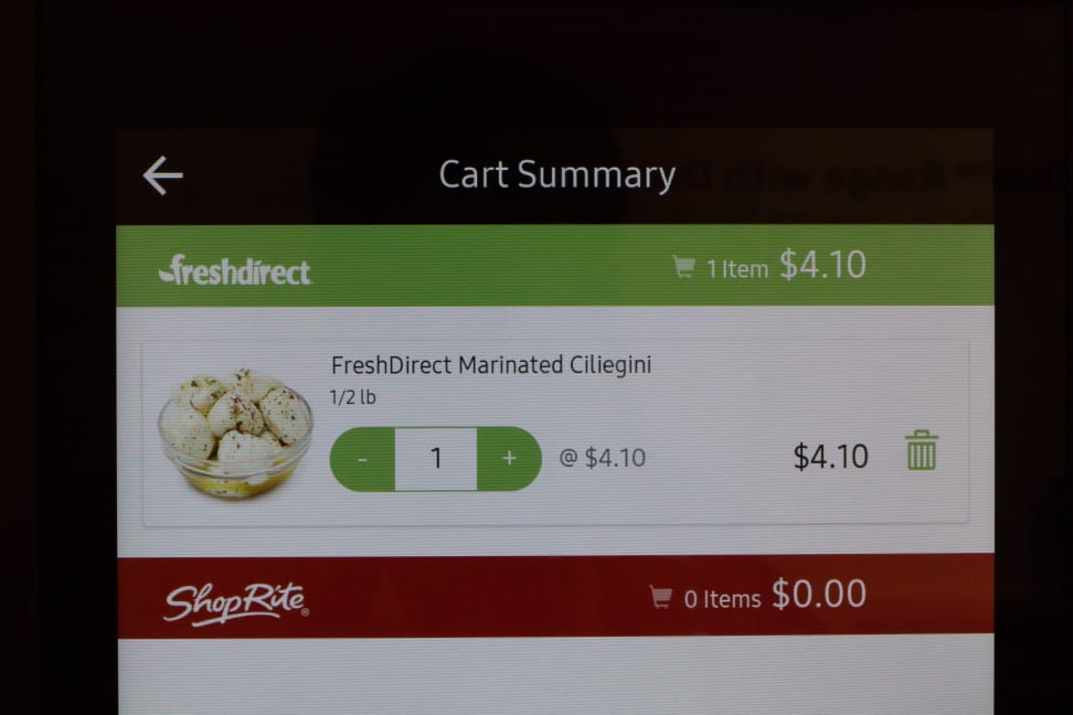 Groceries by Mastercard App
