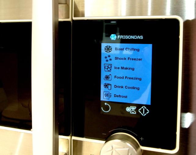 Frigondas Microwave Freezer Menu
