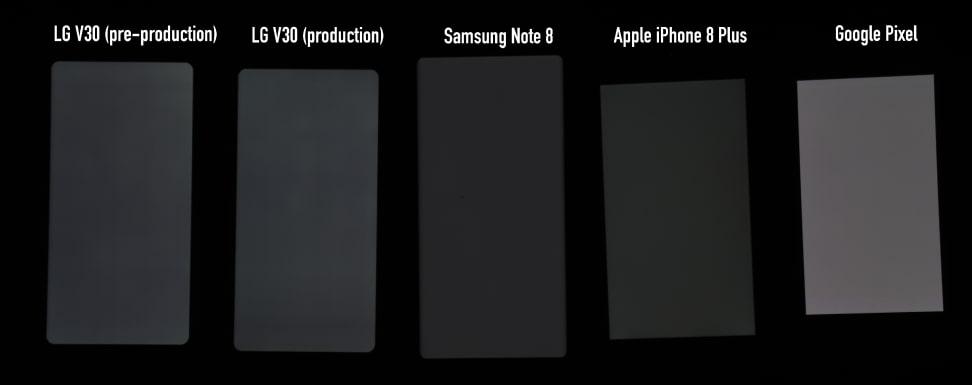 Screen Comparisons