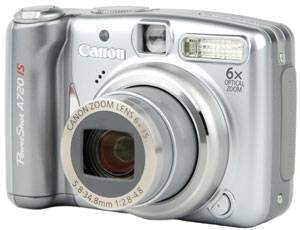 Product Image - Canon PowerShot A720 IS