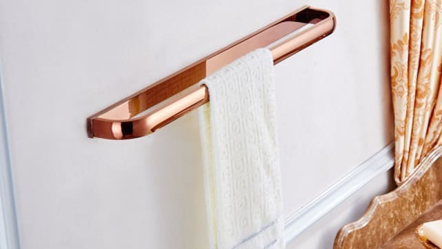 Aothpher Rose Gold Towel Bar
