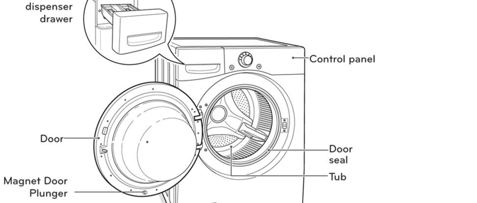 lg washing machine wm2250cw