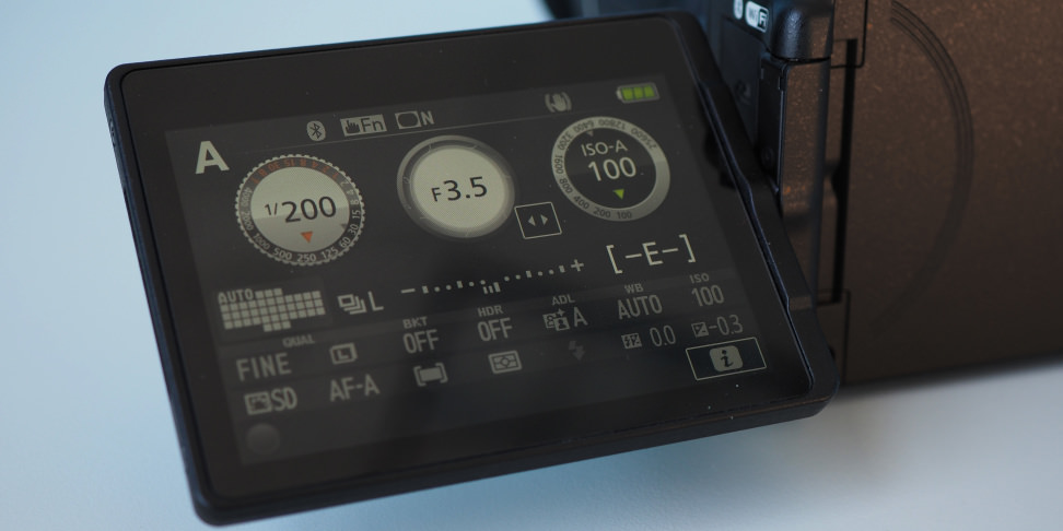 Nikon D5600 Variangle touchscreen