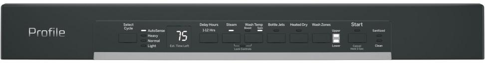 GE Profile PDF820S Controls