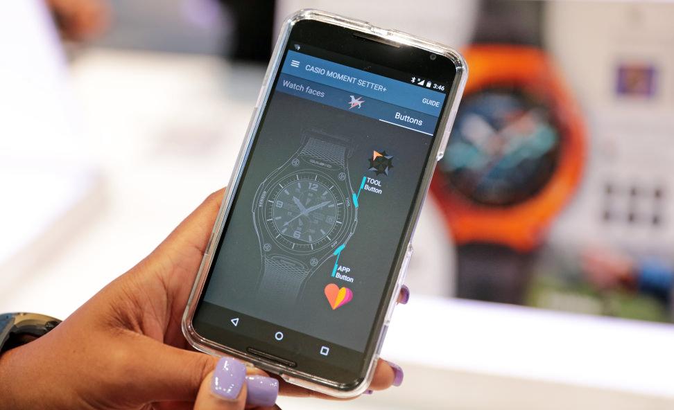 Casio Outdoor Smart Watch App