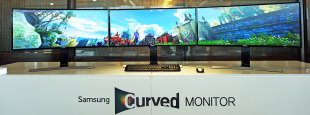 Curved monitor hero